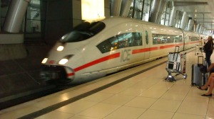 ICE Train at Frankfurt Airport