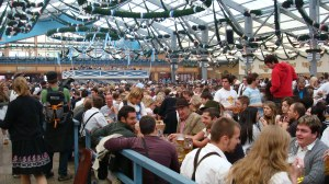 Inside the Schottenhamel Beer Tent