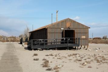 Barracks at Manzanar