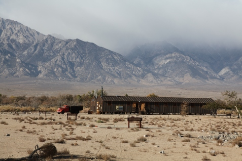 One of the barracks at Manzanar