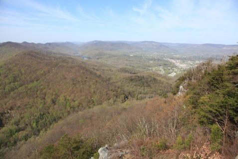 Cumberland Gap from Pinnacle Overlook