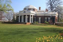 Jefferson's home at Monticello