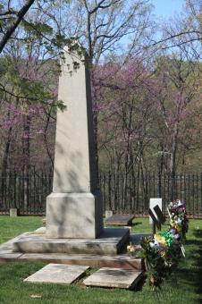 Thomas Jefferson's grave, Monticello