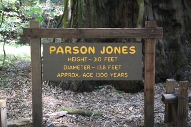 Parson Jones Sign