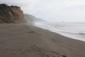 The beach west of Ferndale