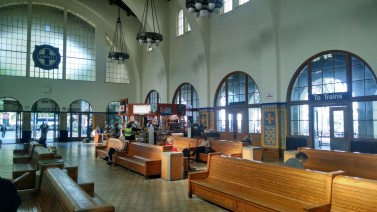 Inside the Santa Fe Depot, San Diego