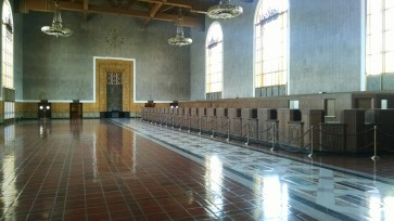 Los Angeles Union Station Ticketing Desk