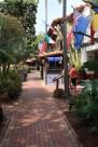 Fiesta de Reyes courtyard