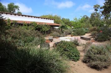 La Casa de Estudillo inner courtyard