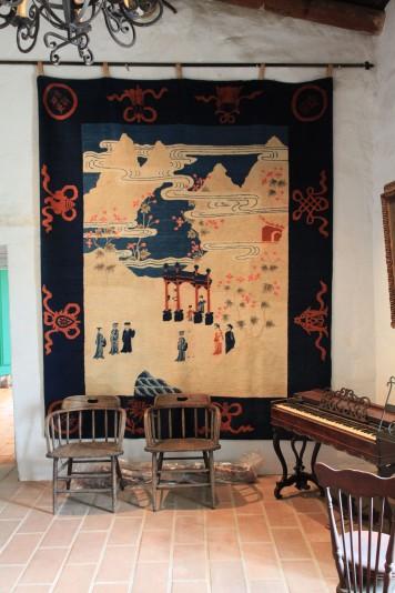 Inside La Casa de Estudillo