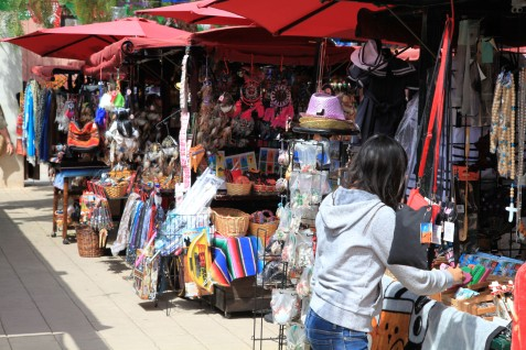 Vendors at the Old Town Market