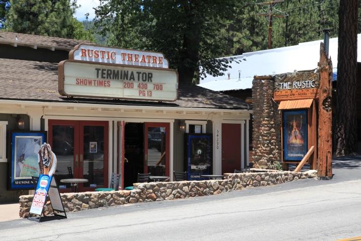 Rustic Theater in Idyllwild