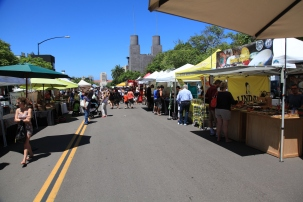 Little Italy's farmer's market