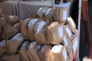 Scrumptious fresh artisan bread...