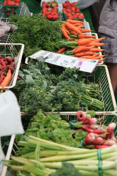 Get your fresh veggies...