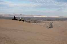 4-wheeling on the dunes
