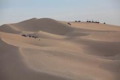 4-wheeling on the dunes