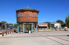 Santa Fe Railyard shopping area