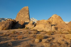 Shark's Fin, Alabama Hills