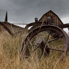 Bodie abandoned equipment