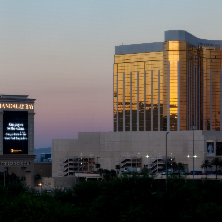 View of the Mandalay Bay from my hotel window