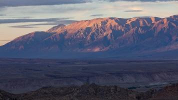 Sunset on White Mountains