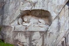 Löwendenkmal, Luzern, Switzerland