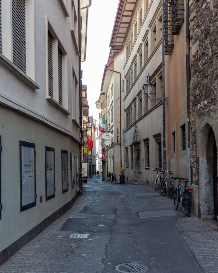Luzern street scene.