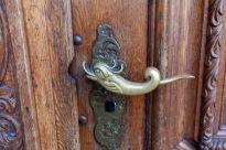Interesting door knob in Luzern, Switzerland.