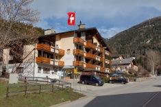 My hotel in Fiesch, the Fiescherhof