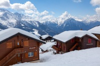 The Swiss Alps from Bettmeralp